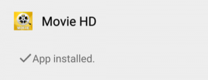 Movie HD Installed