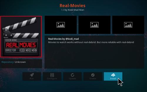 How To Install Real Movies Add-on Kodi 17 Krypton step 18