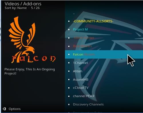 How to Install Falcon Movies Add-on Kodi 17 Krypton step 16