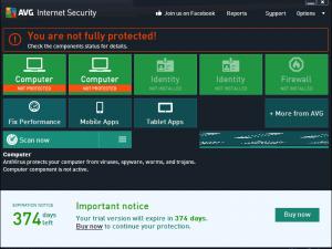 AVG Internet Security 2015 & Antivirus Pro 2015